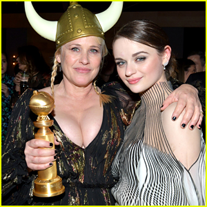 Joey King Suffers Bruise After Patricia Arquette Accidentally Hits Her with Her Golden Globe!