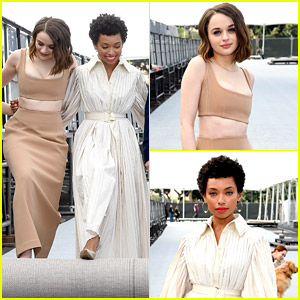 Joey King & Logan Browning Help Roll Out the SAG Awards 2020 Red Carpet!