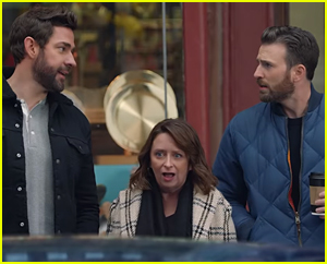 Chris Evans & Rachel Dratch Quiz Fellow Bostonian John Krasinski On Where He's 'Pahked' In Hyundai's Super Bowl 2020 Commercial