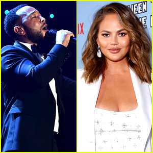 Chrissy Teigen Explains Why She Didn't Join John Legend at the Clive Davis Pre-Grammys Gala 2020
