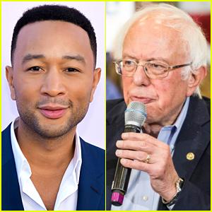 John Legend Has a Message for Bernie Sanders Supporters Who Aren't Happy He Endorsed Elizabeth Warren