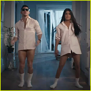 Jonas Brothers' New 'What A Man Gotta Do' Video Pays Homage to Classic Movies - Plus Their Wives Appear!