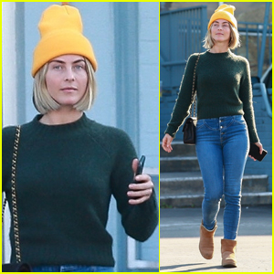 Julianne Hough Steps Out Without Her Wedding Ring Amid Reported Problems with Brooks Laich