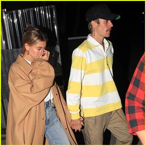 Justin & Hailey Bieber Head to Church After Running Separate Errands