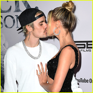 Justin Bieber Kisses Wife Hailey Bieber at Premiere of 'Seasons' Documentary