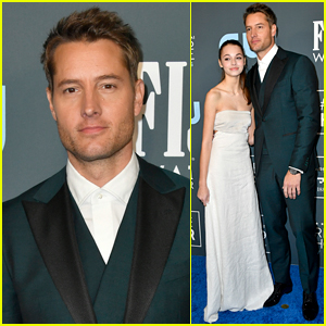 Justin Hartley Brings Daughter Isabella, 15, to Critics' Choice 2020!