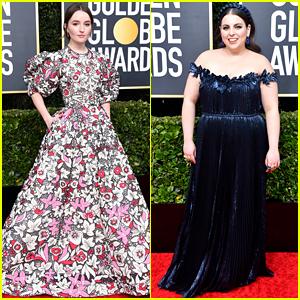 Booksmart's Kaitlyn Dever & Beanie Feldstein Hit the Red Carpet at Golden Globes 2020!