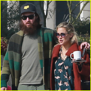 Kate Hudson Wraps Her Arms Around Danny Fujikawa During Afternoon Outing