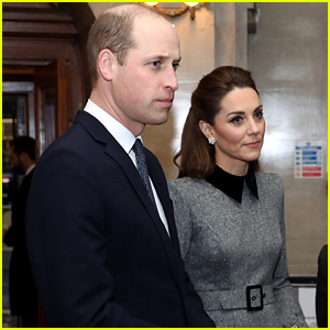 Kate Middleton & Prince William Pay Respects at Holocaust Memorial Day Ceremony
