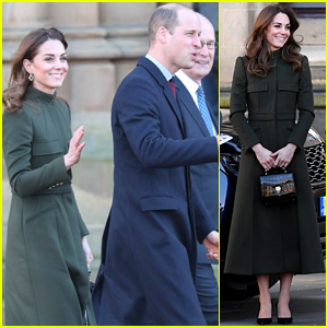 Prince William & Kate Middleton Make First Official Appearance Since Prince Harry & Meghan Markle's Announcement