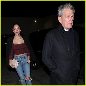 Katharine McPhee & David Foster Dine at Craig's on the Eve of Their Tour Kickoff!
