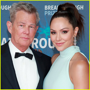 Katharine McPhee & David Foster Hilariously Joke About Their Prenup in New Video