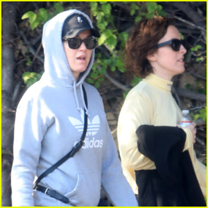 Katy Perry Keeps a Low Profile While Shopping on Melrose Place