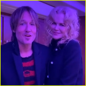 Keith Urban & Nicole Kidman Couple Up in Sweet New Year's Video to Fans