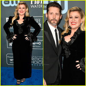 Kelly Clarkson & Husband Brandon Blackstock Step Out for Critics' Choice Awards 2020