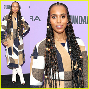 Kerry Washington Modeled All The Cutest Coats To Prepare For Sundance Visit