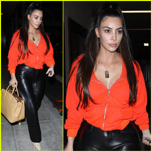 Kim Kardashian Goes Makeup Free After a Spa Trip in LA