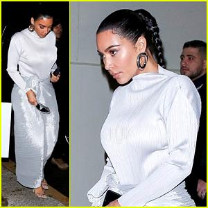Kim Kardashian Attends Kanye West's Special Memorial Service For Kobe Bryant