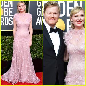 Nominee Kirsten Dunst Gets Support From Partner Jesse Plemons at Golden Globes 2020!