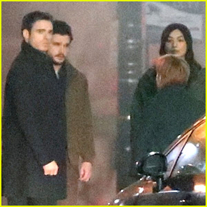 Kit Harington & Richard Madden Reunite On Screen for 'Eternals' Scene with Gemma Chan!