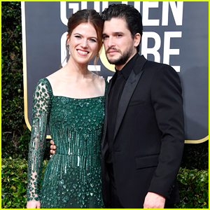 Kit Harington & Wife Rose Leslie Couple Up at Golden Globes 2020!
