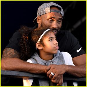 Kobe Bryant's Daughter Gianna Shares His Basketball Skills! (Video)
