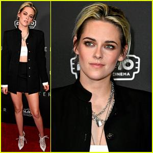 Kristen Stewart Debuts Blonder Hair at 'Underwater' Fan Screening