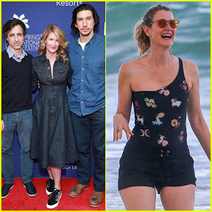 Laura Dern Gets Back on Awards Trail After Trip to Hawaii!