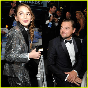 Leonardo DiCaprio & Julia Butters Hang Out at SAG Awards 2020