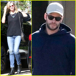 Liam Hemsworth & Mom Leonie Enjoy Lunch Outing in Malibu