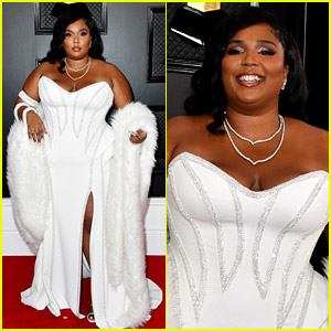 Lizzo Is Pure Glam While Kicking Off Grammys 2020 Red Carpet