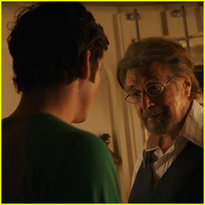 Al Pacino Recruits Logan Lerman in 'Hunters' Trailer - Watch!