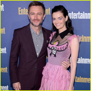 Lydia Hearts & Chris Hardwick Couple Up For Entertainment Weekly's Pre-SAG Awards Celebration