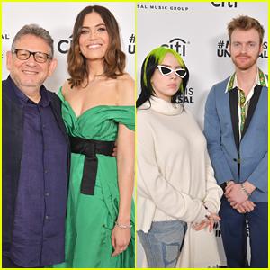 Mandy Moore, Billie Eilish & Anthony Ramos Attend Sir Lucian Grainge's Artist Showcase