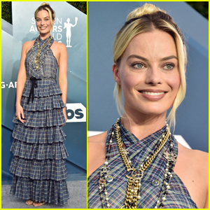 Margot Robbie Celebrates Her Three Nominations at SAG Awards 2020!