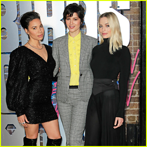 Margot Robbie, Jurnee Smollett-Bell & Mary Elizabeth Winstead Step Out For 'Birds of Prey' Roller Disco Photocall