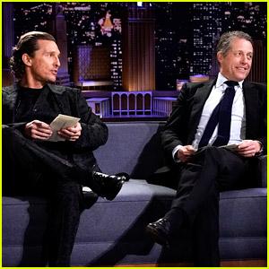 Matthew McConaughey & Hugh Grant Confess Their 'True Confessions' for 'Fallon' Game