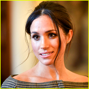 Meghan Markle Spotted for the First Time Since Announcing 'Step Back' From Royal Family