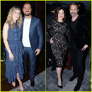 Manifest's Melissa Roxburgh & J.R. Ramirez Make Their Couple Debut at NBC Midseason Party 2020!