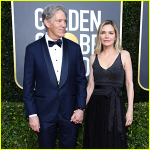 Michelle Pfeiffer & Husband David E. Kelley Pair Up on the Red Carpet at Golden Globes 2020