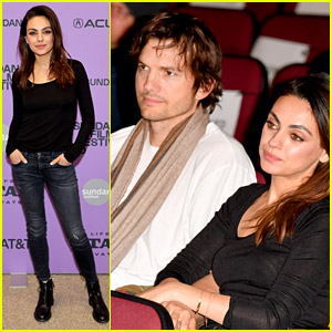 Mila Kunis Gets Ashton Kutcher's Support at 'Four Good Days' Sundance Premiere!