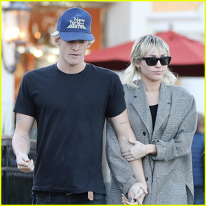 Miley Cyrus & Boyfriend Cody Simpson Keep Close on Dinner Date