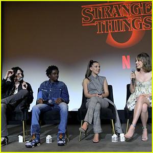 Finn Wolfhard, Caleb McLaughlin, Millie Bobby Brown & More Talk 'Stranger Things' at Q&A