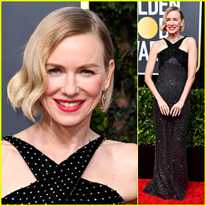Naomi Watts Gets Glam on the Red Carpet at Golden Globes 2020