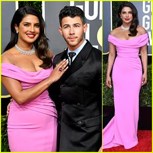 Priyanka Chopra & Nick Jonas Make A Stunning Couple at Golden Globes 2020