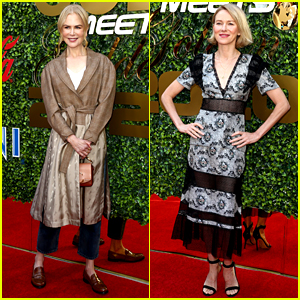 BFFs Nicole Kidman & Naomi Watts Join Olympians at Gold Meets Golden Event!