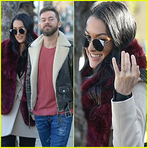 Nikki Bella Shows Off Her Ring While Getting a Meal With New Fiance Artem Chigvintsev