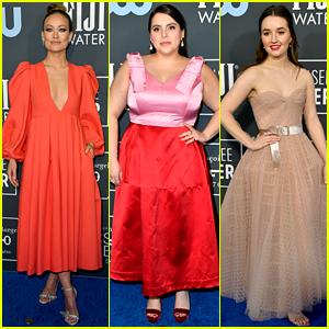 Booksmart's Olivia Wilde, Beanie Feldstein, & Kaitlyn Dever Attend the Critics' Choice Awards 2020!