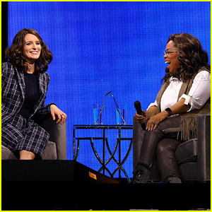 Oprah Tells Tina Fey Maya Angelou's Advice About Turning 50