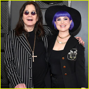 Ozzy Osbourne Joins Daughter Kelly at Grammys 2020
